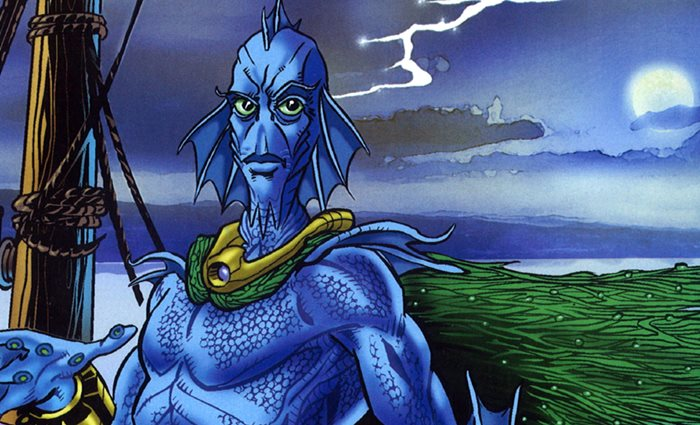 The Singular Case of the Blue Men of the Minch (short story)