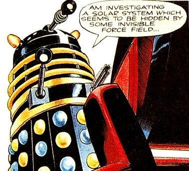 Black Dalek Leader