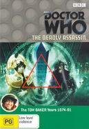 The Deadly Assassin DVD Australian cover