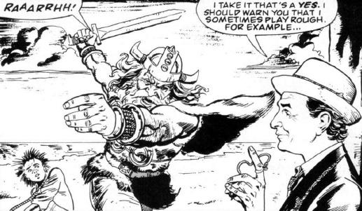 Doctor Conkerer! (comic story)