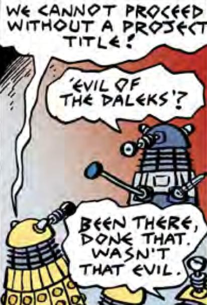 The Daft Dimension (DWM 491 comic story)