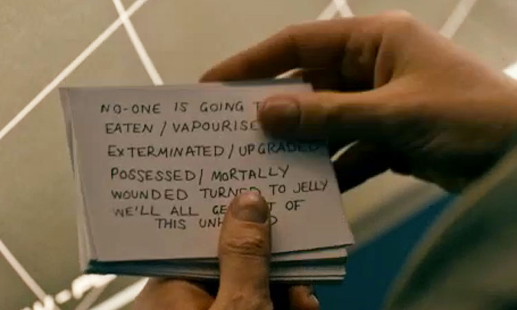 Apology cue cards