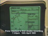 Four to Doomsday Studio Recording