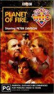 Planet of Fire VHS Australian cover