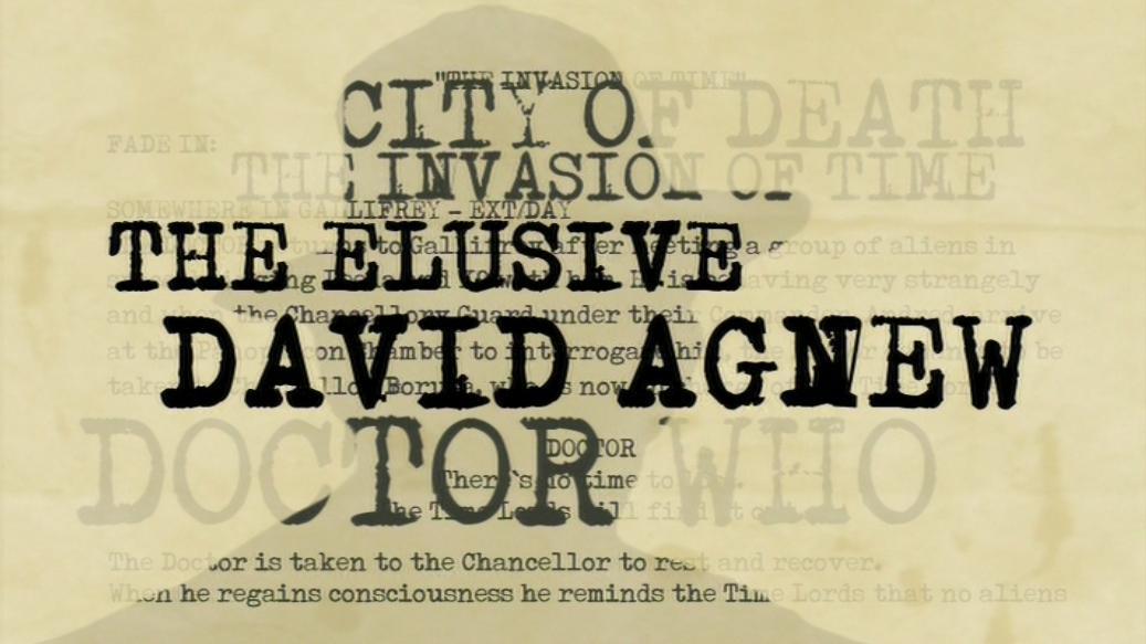 The Elusive David Agnew (documentary)