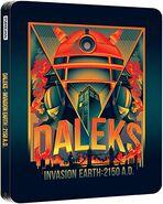 Daleks' Invasion Earth 2150 A.D. 2013 UK Blu-ray Steelbook
