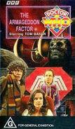 The Armageddon Factor VHS Australian cover