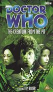 The Creature from the Pit VHS UK cover