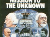 Mission to the Unknown (novelisation)