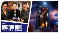 Pearl_Mackie_&_Steven_Moffat_-_The_Aftershow_-_Doctor_Who_The_Fan_Show