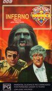 Inferno VHS Australian cover