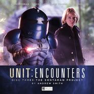The Sontaran Project audio cover