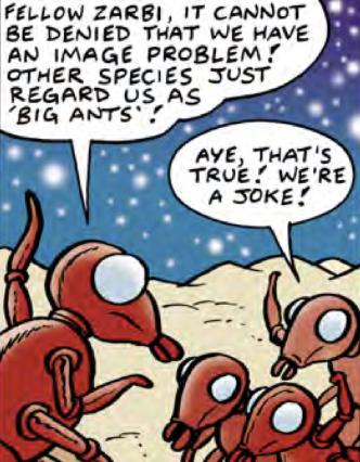 The Daft Dimension (DWM 483 comic story)