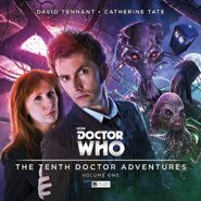The Tenth Doctor Adventures (audio anthology) cover