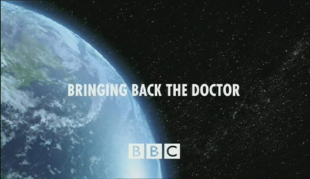 Bringing Back the Doctor (CON episode)