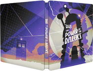 The Power of the Daleks 2017 Steelbook Blu-ray UK