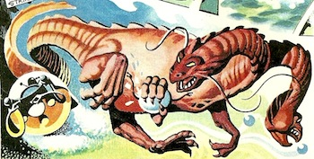 The Terrorkon Harvest (comic story)