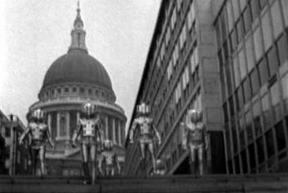 Cyberman invasion of Earth (The Invasion)