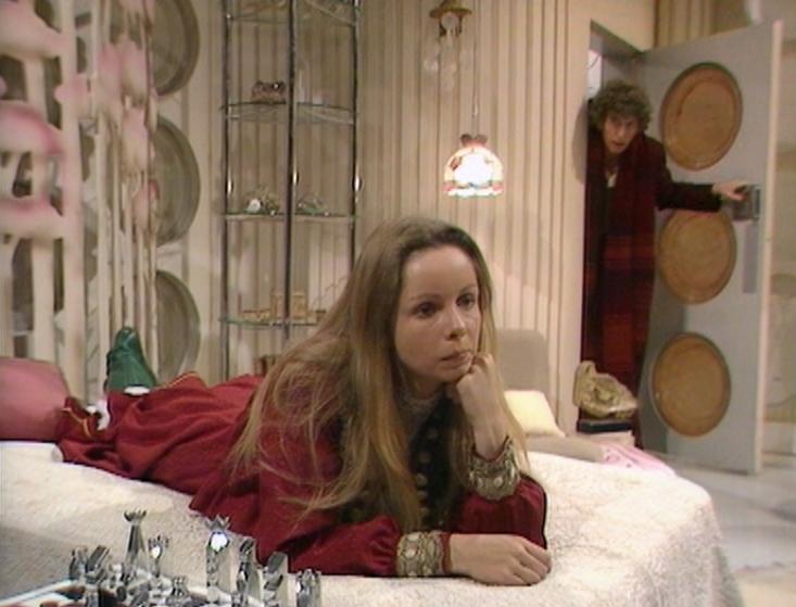 Romana's TARDIS bedroom
