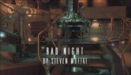 Bad Night title card
