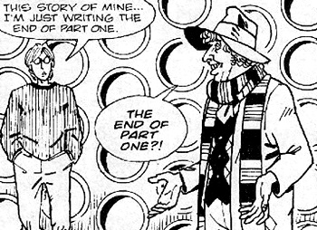 Doctor Who and the Fangs of Time (comic story)