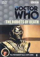 The Robots of Death DVD Netherlands cover