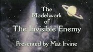 Visual Effect The Model Work of The Invisible Enemy 2