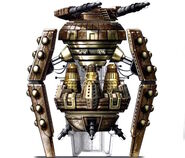 Dalek Attack Ship in the Whoniverse