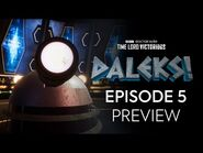 Episode 5 Preview - DALEKS! - Doctor Who