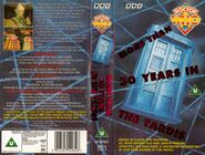 More than 30 Years in the TARDIS UK VHS cover fold out