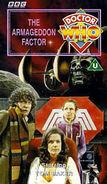 The Armageddon Factor VHS UK cover