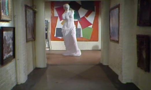 TARDIS art gallery