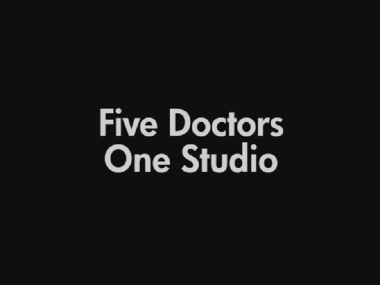 Five Doctors, One Studio