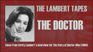 The Lambert Tapes The Doctor