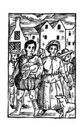 The Plotters Woodcut 1