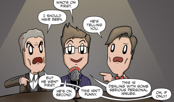 The Doctors Do... Classic Comedy (comic story)