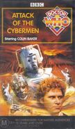 Attack of the Cybermen VHS Australian cover