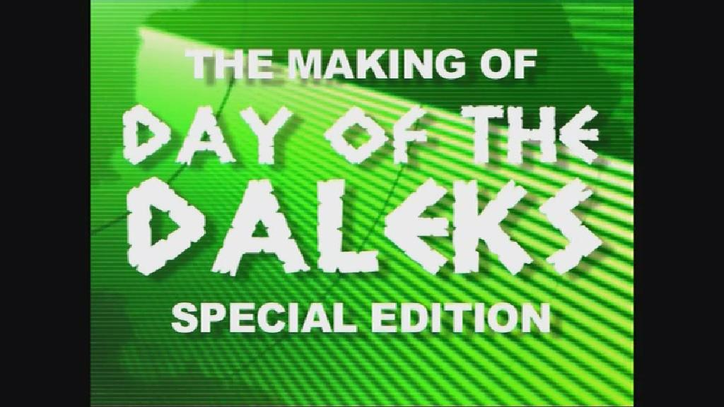 The Making of Day of the Daleks: Special Edition (documentary)