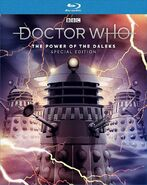 The Power of the Daleks UK Special Edition Blu-ray