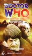 The War Games 40thanniv VHS Australian cover