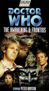 The Awakening and Frontios VHS US cover