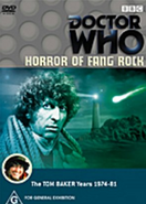 Horror of Fang Rock DVD Australian cover