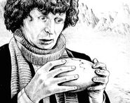 Fourth Doctor and egg