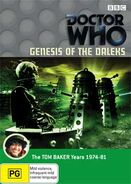 Genesis of the Daleks DVD Australian cover