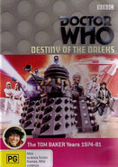 Destiny of the Daleks DVD Australian cover