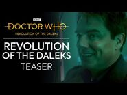 JACK IS BACK! - Revolution of the Daleks Teaser - Doctor Who