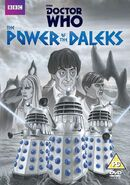 The Power of the Daleks UK DVD Cover