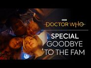 Saying Goodbye to Bradley Walsh and Tosin Cole - Revolution of the Daleks - Doctor Who