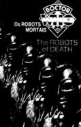 The Robots of Death VHS Portugal