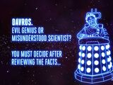 Who Is Davros? (webcast)